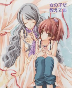 Rating: Safe Score: 11 Tags: aoi_nagisa hanazono_shizuma maki_chitose strawberry_panic User: Juhachi