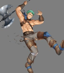 Rating: Questionable Score: 1 Tags: dieck fire_emblem fire_emblem:_rekka_no_ken fire_emblem_heroes heels mikurou nintendo torn_clothes weapon User: fly24