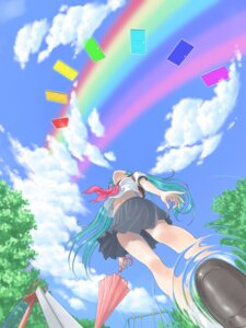 Rating: Safe Score: 11 Tags: hata_hata hatsune_miku vocaloid User: charunetra