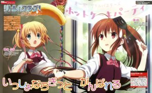 Rating: Safe Score: 32 Tags: hirota_akane kamikita_komari little_busters! natsume_rin seifuku User: drop
