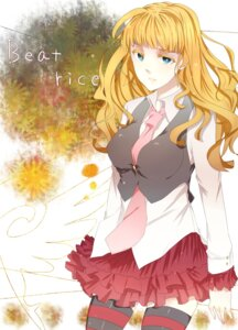 Rating: Safe Score: 11 Tags: 933 beatrice thighhighs umineko_no_naku_koro_ni User: ghoulishWitchhx