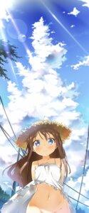 Rating: Questionable Score: 84 Tags: dress ichi_makoto nopan summer_dress User: hobbito