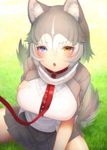 Rating: Safe Score: 8 Tags: animal_ears heterochromia kemono_friends seifuku sweater tagme tail User: Mr_GT