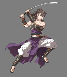 Rating: Questionable Score: 3 Tags: fire_emblem fire_emblem_heroes fire_emblem_if hinata_(fire_emblem) nintendo sword transparent_png ueda_yumehito User: Radioactive