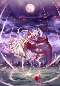 Rating: Safe Score: 19 Tags: remilia_scarlet torinoakua touhou wings User: Nekotsúh