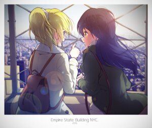 Rating: Safe Score: 11 Tags: ayase_eli love_live! sonoda_umi tagme User: saemonnokami