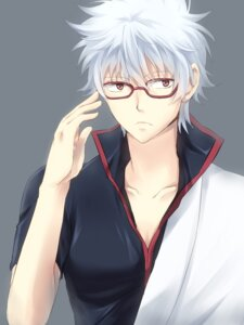 Rating: Safe Score: 5 Tags: gintama male megane punchiki sakata_gintoki User: charunetra