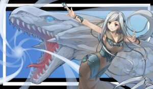 Rating: Safe Score: 18 Tags: blue_eyes_white_dragon dress frostcyco maiden_with_eyes_of_blue monster yugioh User: charunetra