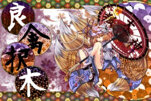 Rating: Safe Score: 16 Tags: kumonji_aruto touhou yakumo_ran User: Mr_GT