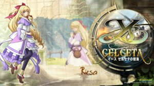 Rating: Safe Score: 14 Tags: falcom riesa wallpaper ys ys:_foliage_ocean_in_celceta User: beitiao
