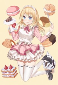 Rating: Safe Score: 27 Tags: maid ray_akila thighhighs User: shebang