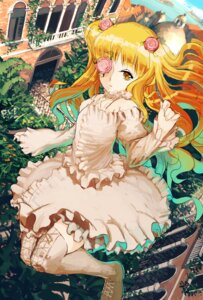 Rating: Safe Score: 25 Tags: dress jan_(artist) kirakishou rozen_maiden thighhighs User: Zenex