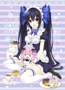 Rating: Safe Score: 54 Tags: chibi choujigen_game_neptune cleavage heels maid neptune noire thighhighs zero_(ray_0805) User: Nepcoheart