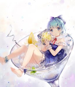 Rating: Safe Score: 48 Tags: cirno dress nosaki touhou User: zero|fade