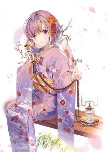 Rating: Safe Score: 40 Tags: fate/grand_order hatachi8p kimono mash_kyrielight User: Dreista