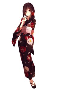 Rating: Safe Score: 70 Tags: kagerou_project mikanururu tateyama_ayano yukata User: zero|fade