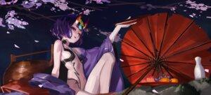 Rating: Questionable Score: 13 Tags: 1s44c fate/grand_order horns japanese_clothes loli no_bra open_shirt pantsu shuten_douji_(fate/grand_order) umbrella User: BattlequeenYume