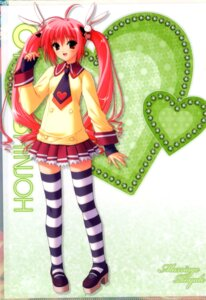 Rating: Safe Score: 29 Tags: marriage_royale shinjou_otoha suzuhira_hiro thighhighs User: fireattack
