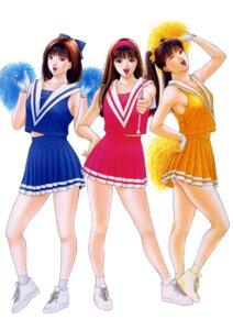 Rating: Safe Score: 13 Tags: cheerleader g-taste yagami_hiroki User: MDGeist