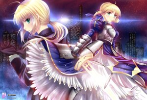 Rating: Safe Score: 37 Tags: armor fate/stay_night fate/zero obiwan saber sword User: omegakung