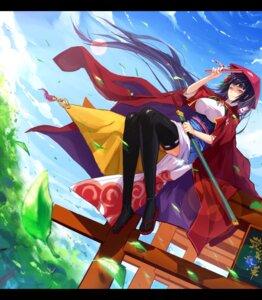 Rating: Safe Score: 24 Tags: japanese_clothes pixiv_fantasia pixiv_fantasia_sword_regalia ryuuzaki_itsu sword thighhighs User: fairyren