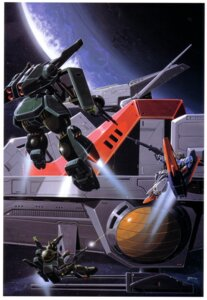 Rating: Safe Score: 4 Tags: gundam mecha okawara_kunio zeta_gundam User: Radioactive