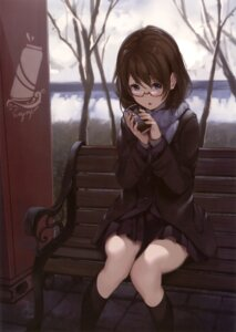 Rating: Safe Score: 62 Tags: megane paseri seifuku User: Twinsenzw