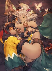 Rating: Questionable Score: 72 Tags: animal_ears ass bikini_armor cleavage granblue_fantasy junwool melleau weapon User: Mr_GT