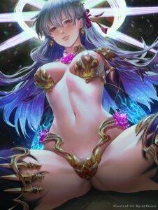 Rating: Questionable Score: 34 Tags: armor artofkuzu bikini_armor fate/grand_order garter kama_(fate/grand_order) thighhighs User: Mr_GT