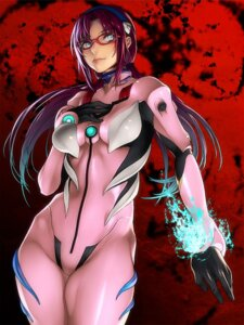 Rating: Safe Score: 41 Tags: bodysuit kazakami_yuu makinami_mari_illustrious megane neon_genesis_evangelion User: Radioactive