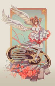 Rating: Safe Score: 11 Tags: card_captor_sakura doomfest dress kinomoto_sakura thighhighs weapon wings User: Mr_GT