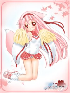 Rating: Safe Score: 20 Tags: animal_ears cheerleader momoyuki nakajima_konta pantsu snow_fox tail User: oldwrench