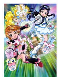 Rating: Questionable Score: 2 Tags: bike_shorts dress futari_wa_pretty_cure heels pretty_cure User: drop