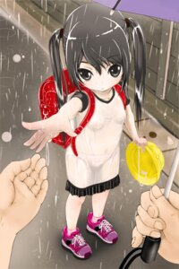 Rating: Questionable Score: 58 Tags: dress higashi_tarou loli pantsu see_through wet wet_clothes User: Mr_GT