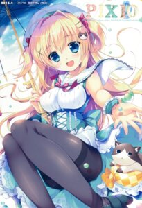 Rating: Safe Score: 55 Tags: dress heels mikeou neko pantyhose pink_chuchu umbrella User: Twinsenzw