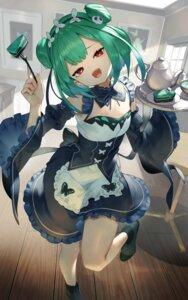 Rating: Safe Score: 15 Tags: hololive maid skirt_lift sukocchi uruha_rushia User: Arsy