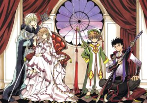 Rating: Safe Score: 16 Tags: clamp crease fai_d._flourite kinomoto_sakura kurogane li_syaoran tsubasa_reservoir_chronicle User: LulukoVladmont