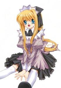 Rating: Safe Score: 4 Tags: air dress hinoue_itaru kamio_misuzu key lolita_fashion thighhighs User: marechal