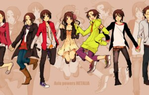 Rating: Safe Score: 16 Tags: china hetalia_axis_powers hong_kong japan kon_(artist) korea taiwan User: yumichi-sama