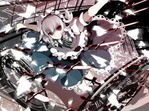 Rating: Safe Score: 12 Tags: izayoi_sakuya touhou uki wallpaper User: Ayu*nyan