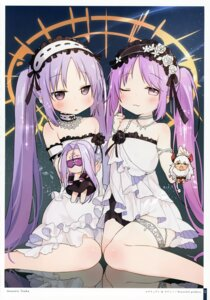 Rating: Safe Score: 30 Tags: asterius_(fate/grand_order) dress euryale fate/grand_order garter rider stheno tagme User: kiyoe