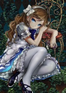 Rating: Safe Score: 134 Tags: alice alice_in_wonderland dress heels pantyhose pisuke User: Mr_GT