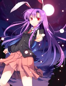 Rating: Safe Score: 54 Tags: abusoru animal_ears bunny_ears reisen_udongein_inaba seifuku touhou User: abdulaziz5