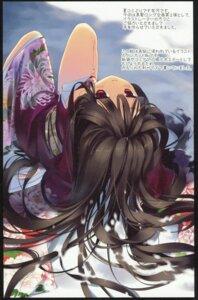 Rating: Questionable Score: 34 Tags: active_mover arikawa_satoru kimono paper_texture User: Krisla