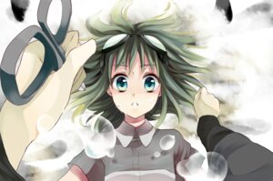 Rating: Safe Score: 7 Tags: gumi kurabayashi_matoni mosaic_roll_(vocaloid) vocaloid User: charunetra