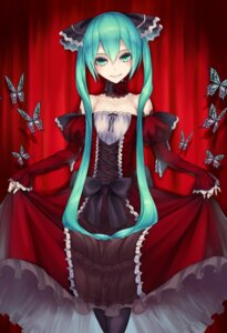 Rating: Safe Score: 85 Tags: 2d dress hatsune_miku pantyhose vocaloid User: Radioactive