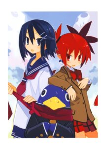 Rating: Safe Score: 16 Tags: asagiri_asagi disgaea etna harada_takehito pointy_ears prinny seifuku User: Radioactive