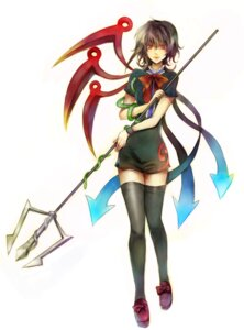 Rating: Safe Score: 7 Tags: houjuu_nue nr thighhighs touhou User: Radioactive