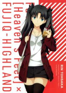 Rating: Safe Score: 36 Tags: fate/stay_night fate/stay_night_heaven's_feel sweater thighhighs toosaka_rin User: Radioactive