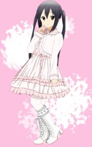 Rating: Safe Score: 53 Tags: dress k-on! lolita_fashion nakano_azusa pantyhose yuyui User: Radioactive